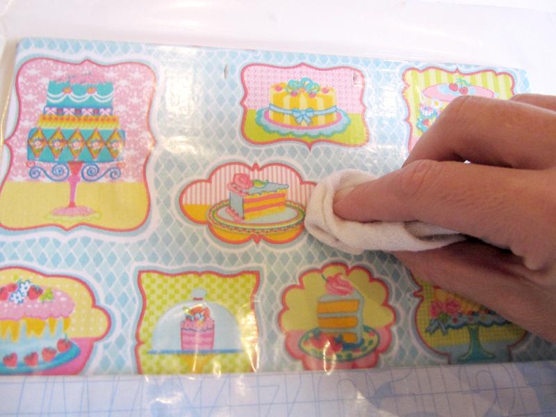 Instalando o adesivo transparente