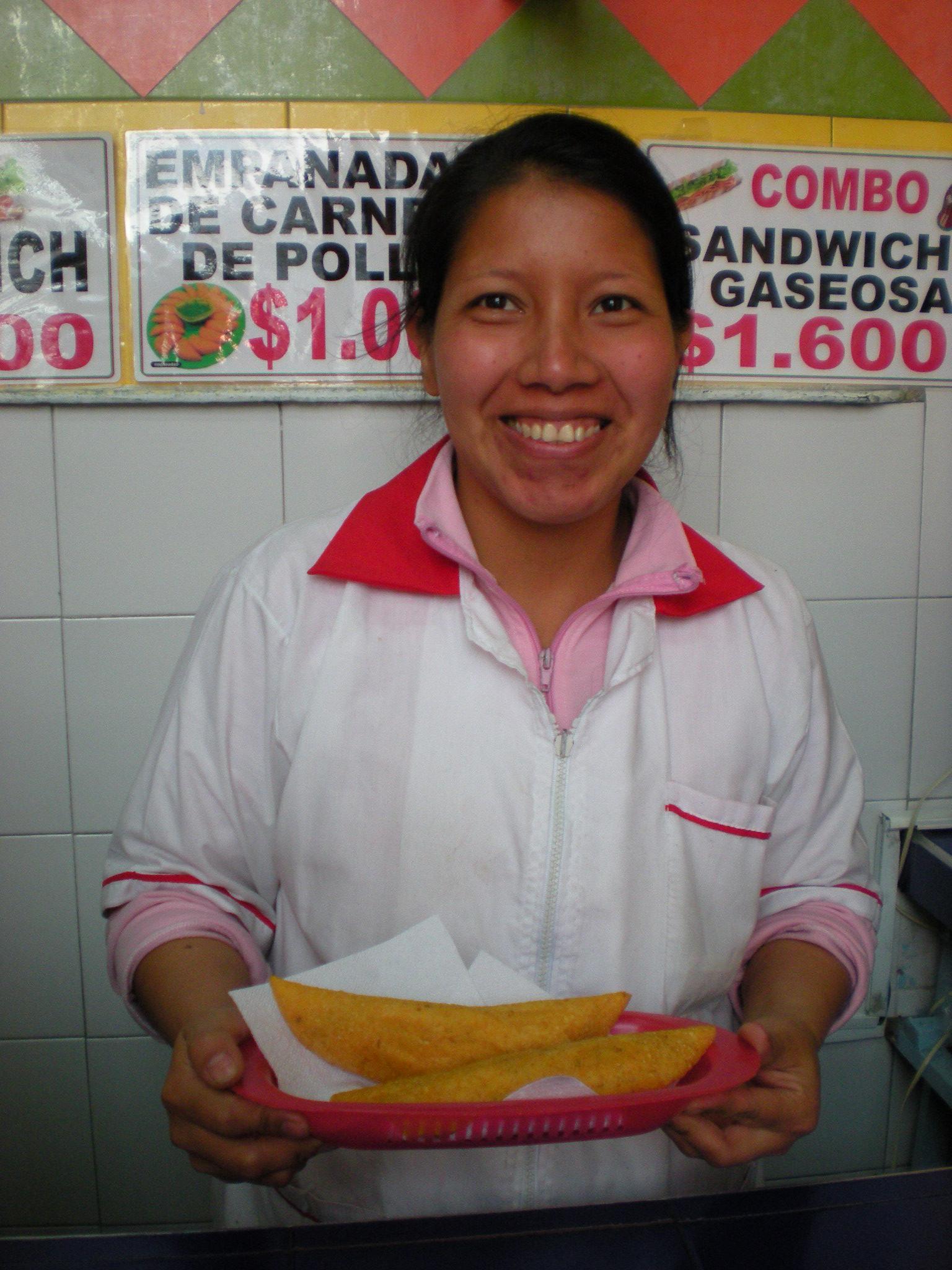 Joana vende mais de 200 empanadas por dia