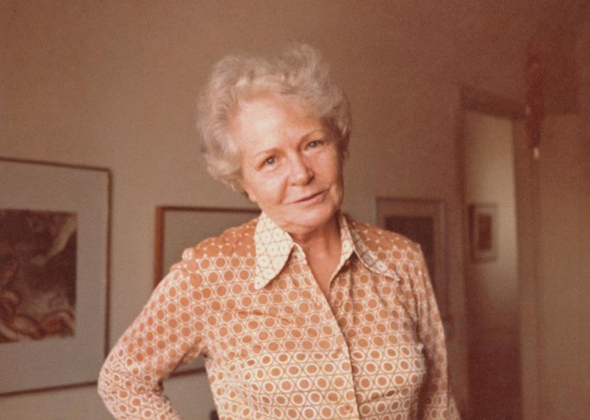 Anneliese, a segunda mulher do avô, com quem Laís morou por 12 anos