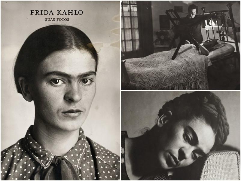 Livro Frida Kahlo, suas fotos. Organização Pablo Ortiz Monasterio - na Cosac Naify R$139