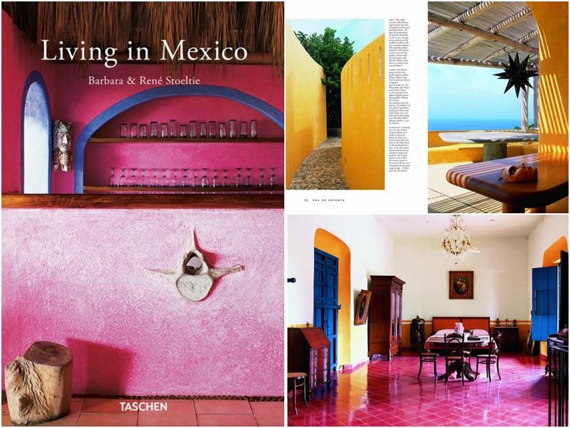 Livro Linving in Mexico - na Taschen - $14,99