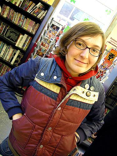A quadrinista norte-americana Liz Prince