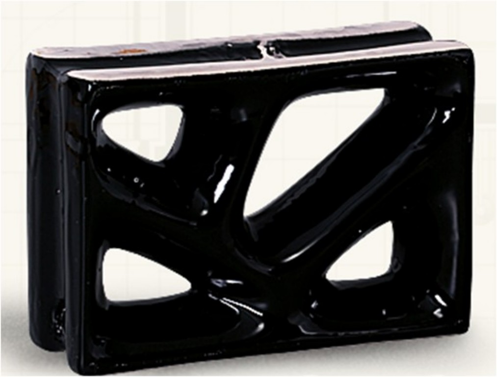 Louça preto modelo rama (Cerâmica Martins - www.ceramicamartins.com.br)
