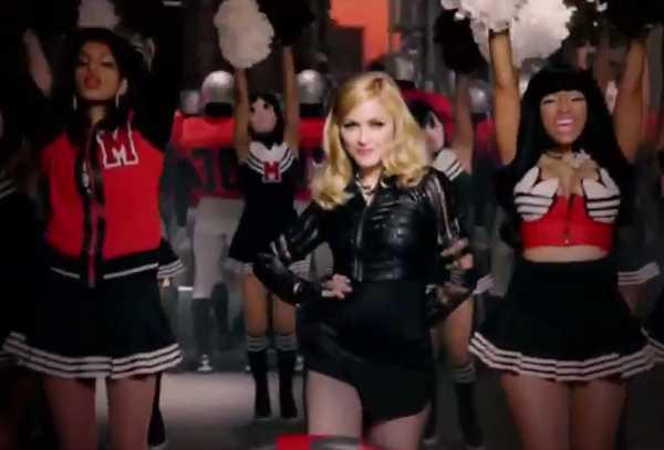 Madonna lança novo single e clipe