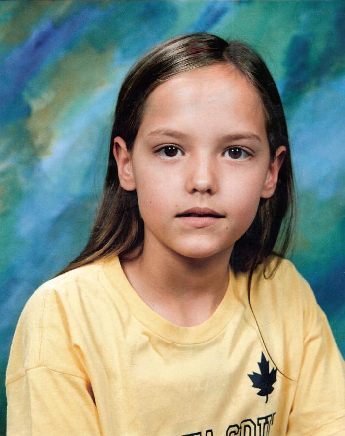 Foto oficial da escola, com 9 anos