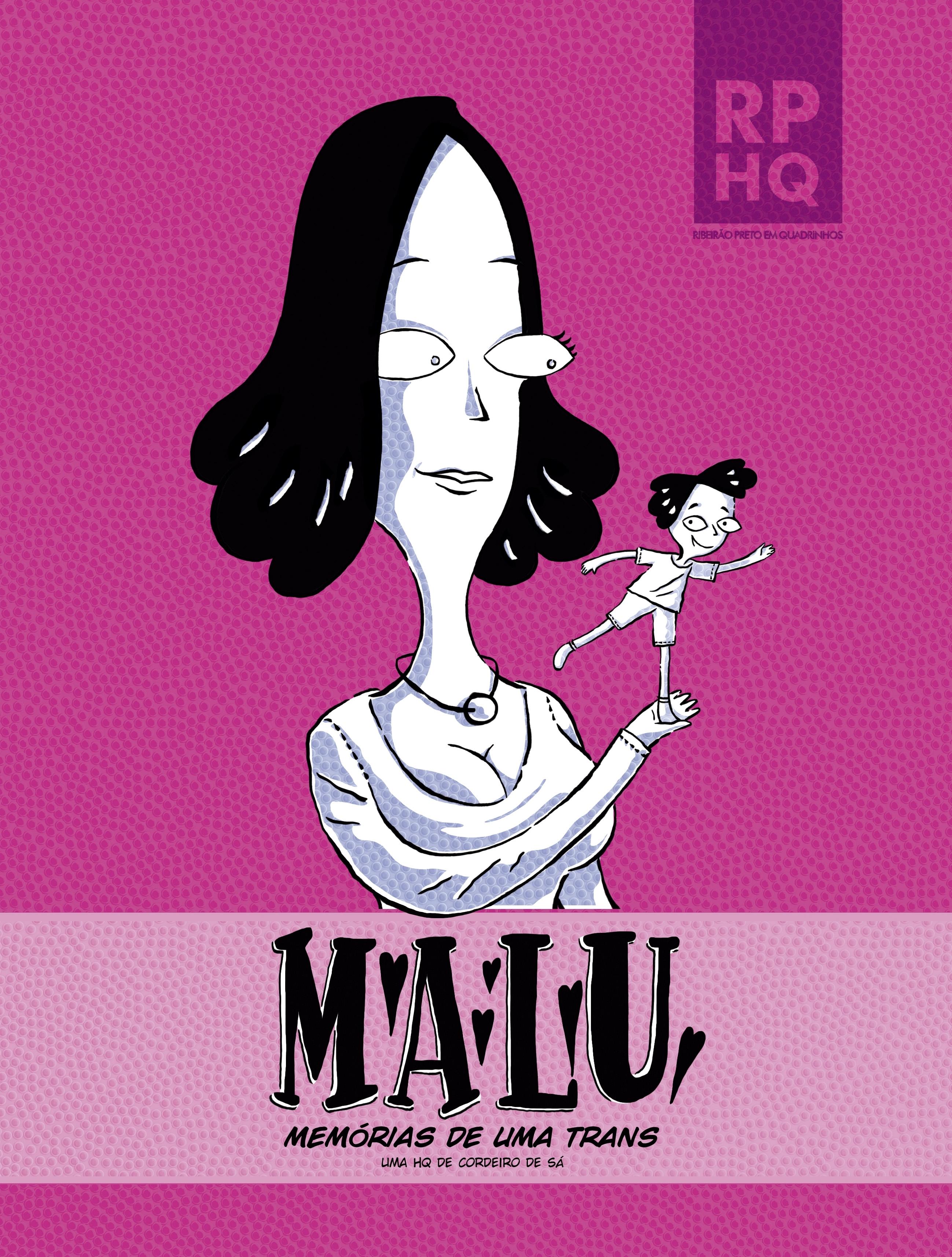 Capa de Malu: memórias de uma trans