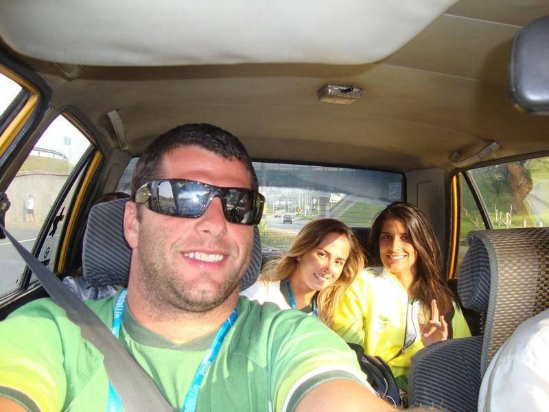 Marreco, Camila e eu