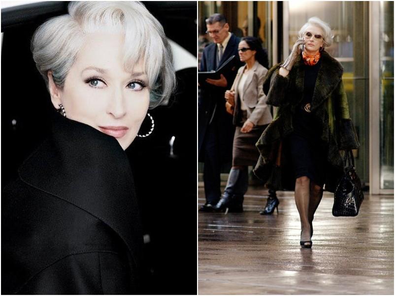 Meryl Streep, musa e linda para fazer 'O Diabo veste Prada'