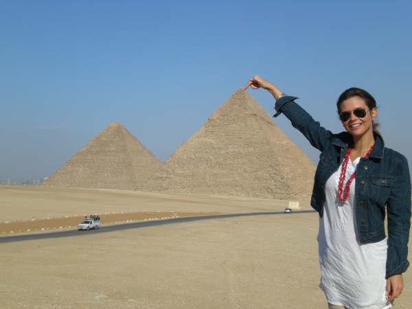 As pirâmides do Cairo até parecem pequenas!