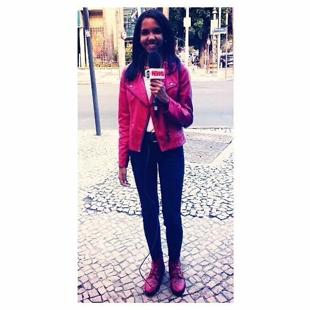 Repórter por um dia no Globo News