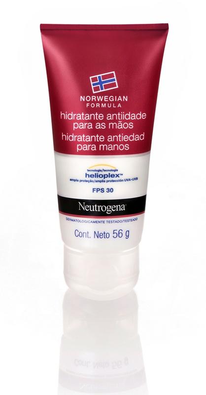 Neutrogena Norwegian Formula Hidratante Anti-Idade para as Mãos com FPS 30, R$20,90: além de hidratar, promove também ação antienvelhecimento graças ao fator de proteção FPS 30 - Neutrogena 0800-7036363