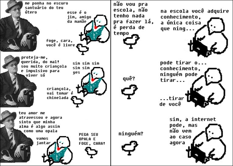 Imagens do tumblr O Pintinho