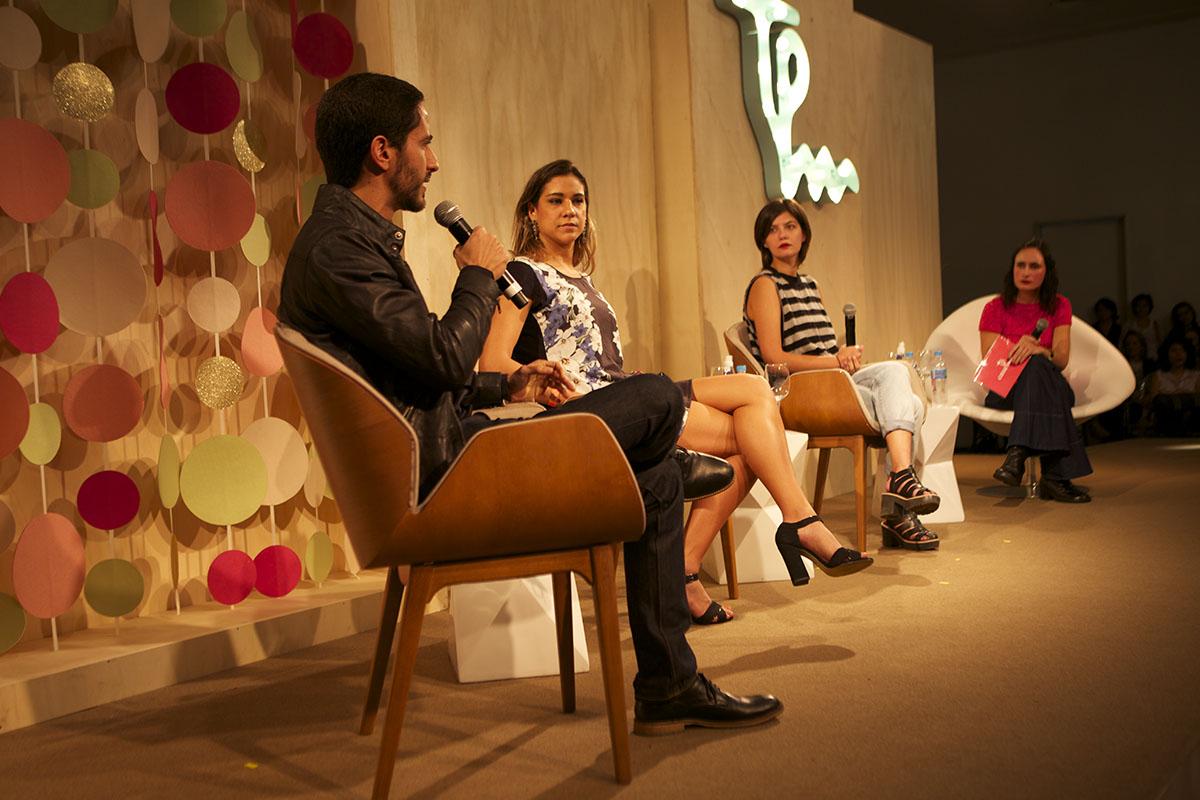 Ronaldo Lemos, Joanna Maranhã, Juliana de Faria e Lia Bock falam sobre o empoderamento feminino na internet