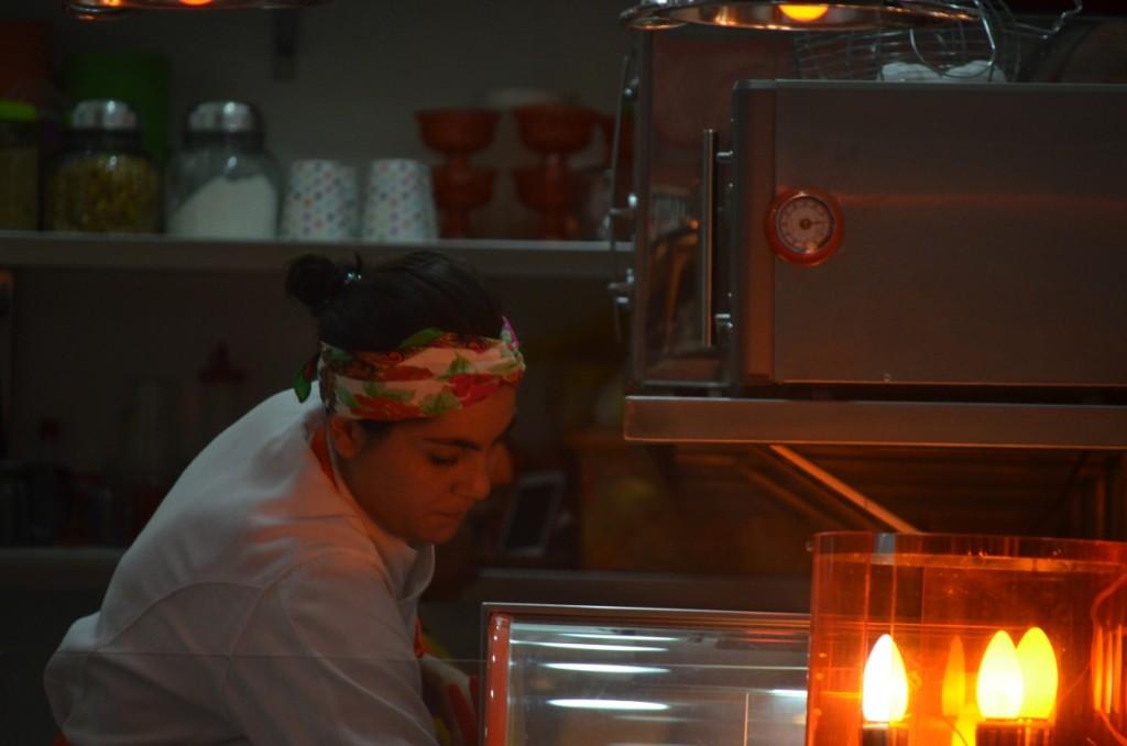 A chef Barbara Fominaya
