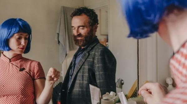 O casal de atores, Olivia e Serge