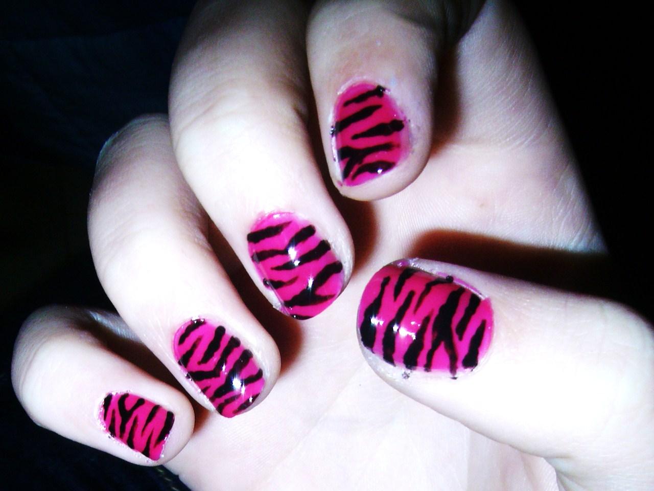 Zebra rosa