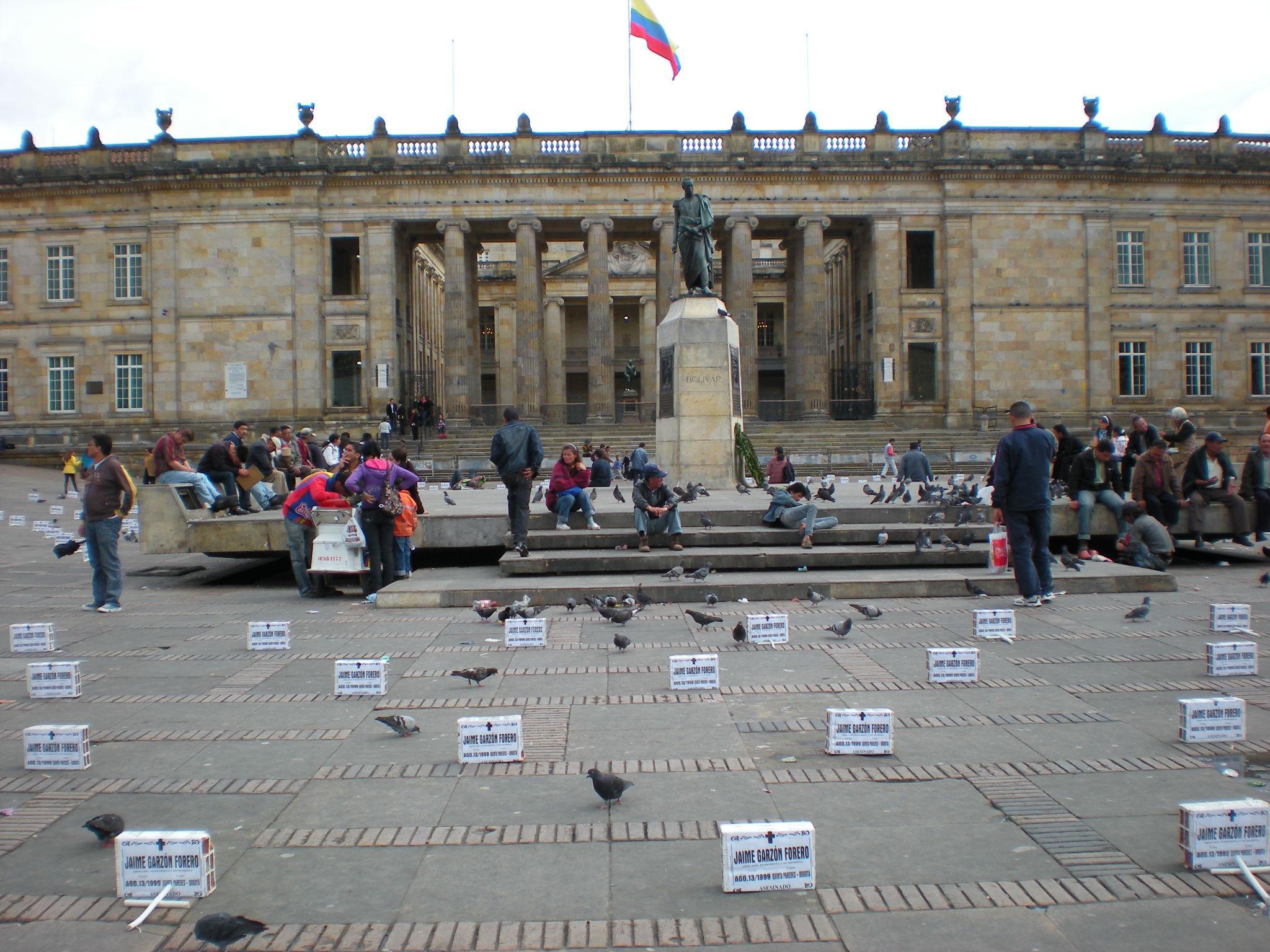 Praça Simón Bolívar