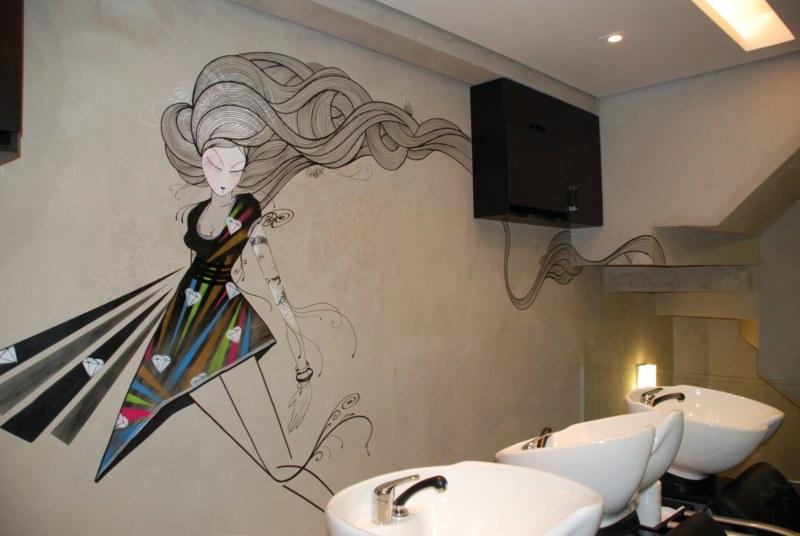 Arte de rua na parede