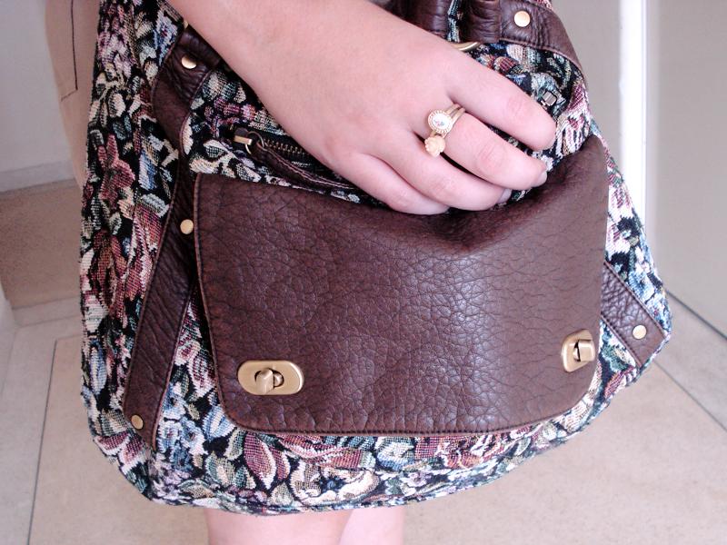 A bolsa também faz parte das compras de Nova York, é da Forever 21.