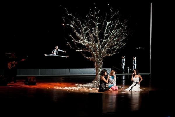 No show final as cantoras Céu, Karina Buhr e Marina De La Riva