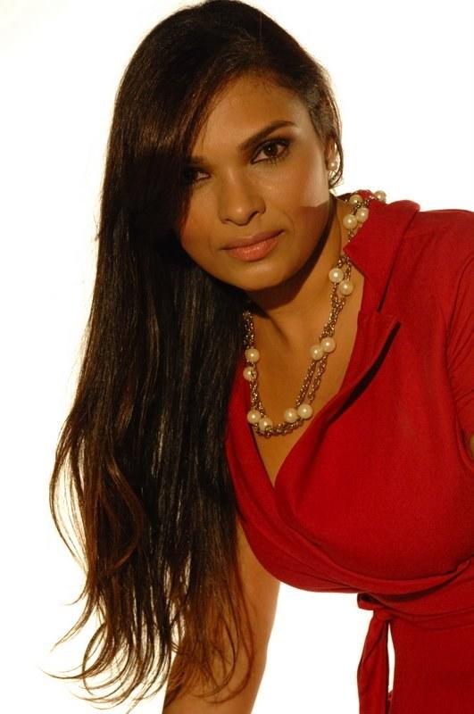 A modelo mineira Silvia Neves