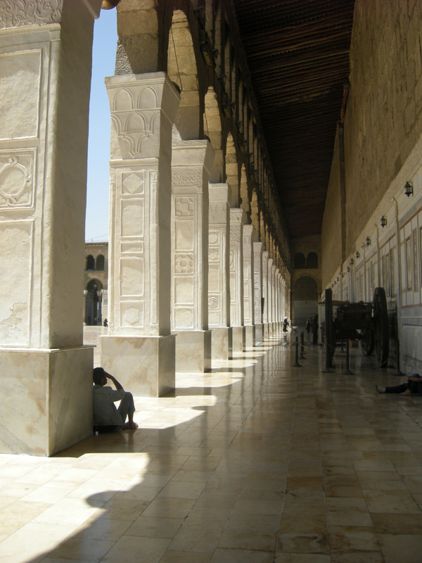 Dimensões impressioantes: Umayyad Mosque