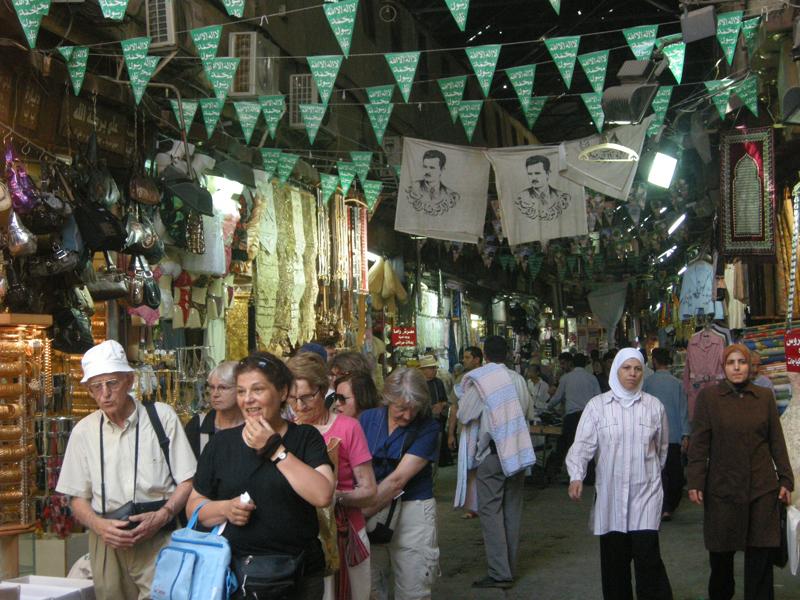Os mercados souqs