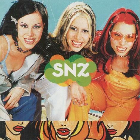 Capa de disco da banda SNZ