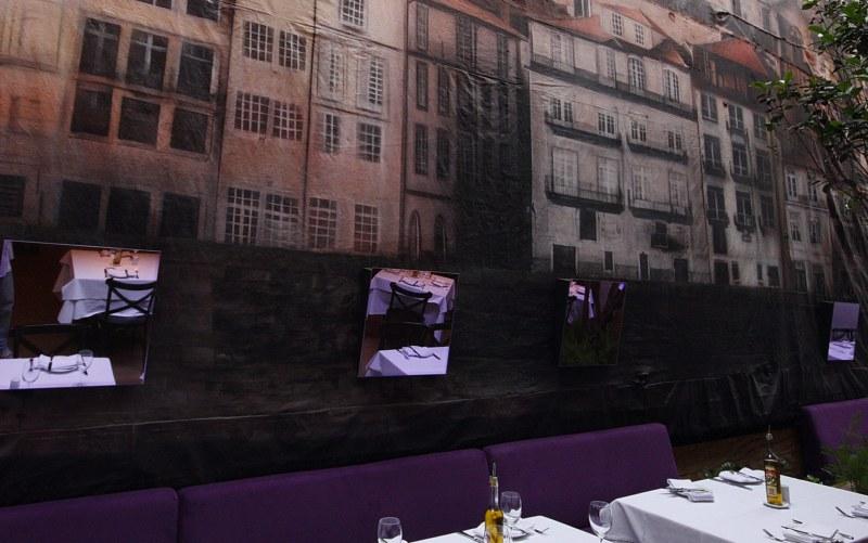 Mural restaurante Trindade, na Rua Amauri - Obra de Eduardo Kobra www.eduardokobra.com
