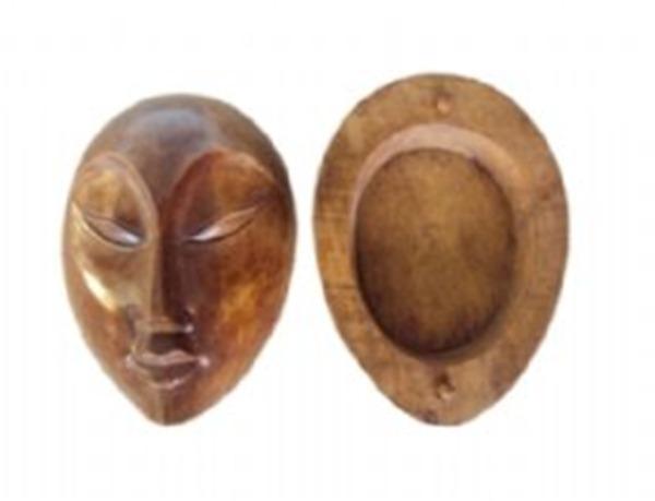 Sugestão de objetos: Caixa Face de Mulher l Disponível na Arte da Ásia