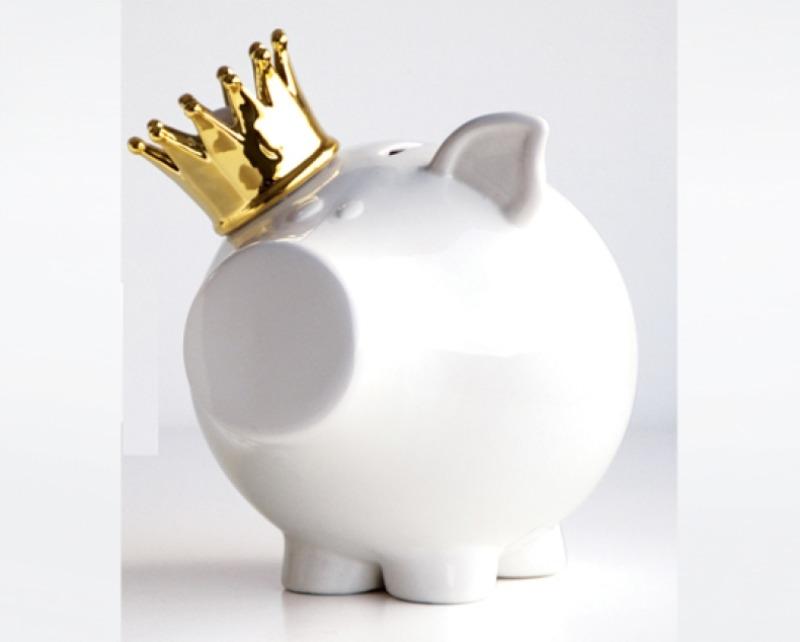 Sugestão de objetos: Cofre Porquinho Rei l Disponível na ObraVip
