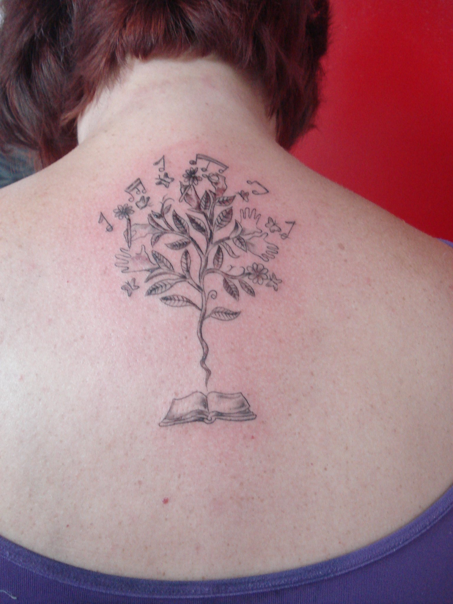 A tattoo da @dehcapella