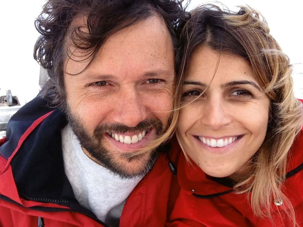 Com o músico gaúcho Duca Leindecker, seu namorado há oito meses