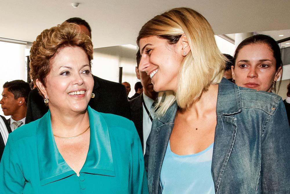 Com Dilma no Palácio da Alvorada