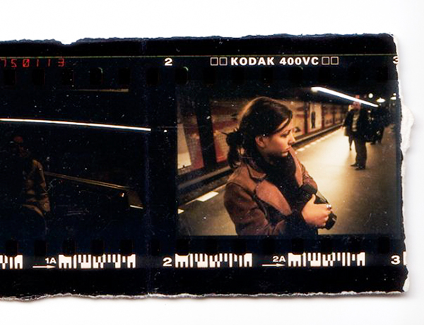Aos 18 anos, em seu primeiro ensaio fotográfico
