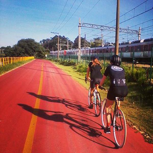 Autumn de bike, em São Paulo
