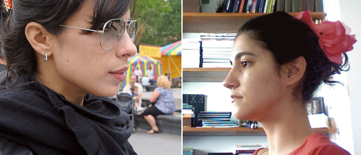 Antonia Pellegrino faz uma pergunta para Maria Ribeiro
