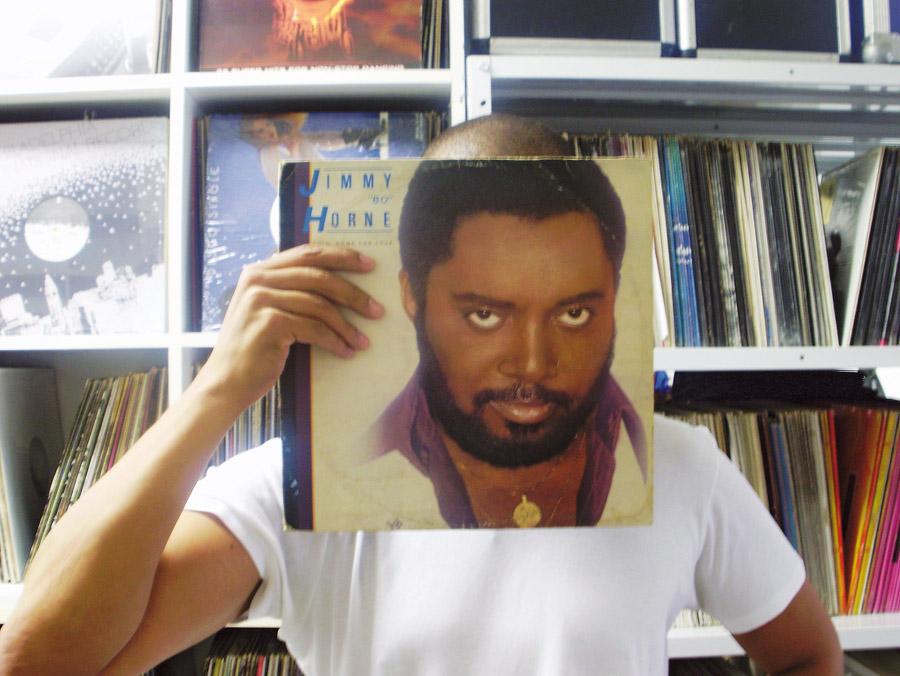 4. Jimmy Bo Horne, Goin Home for Love, 1979: Jimmy 'Bo' Horne foi um presente de aniversário que veio em 1979. Sonhava em ser DJ. Aprendi a mixar sozinho com este vinil