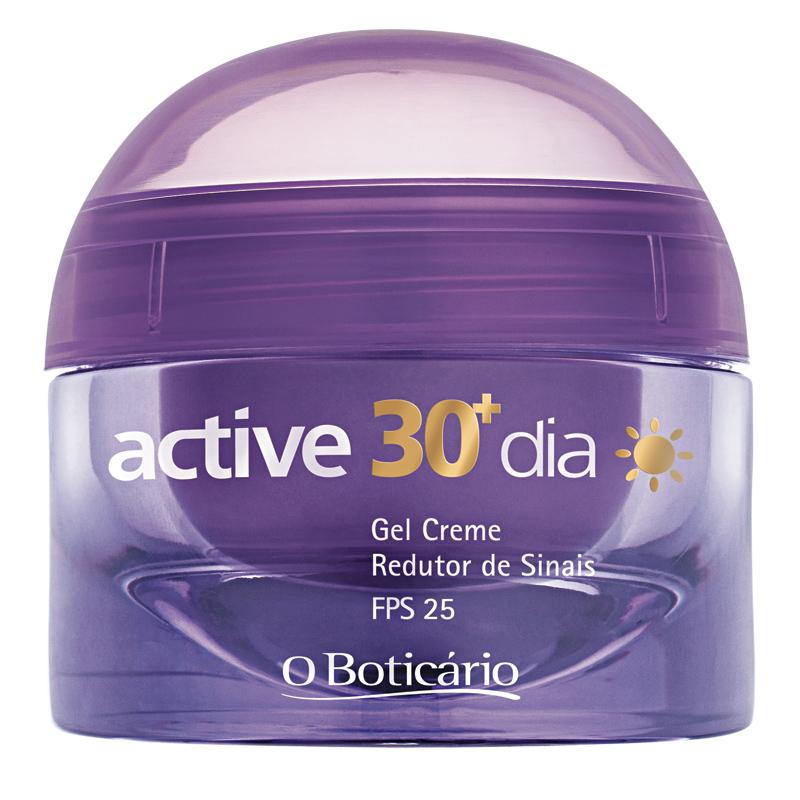 12 • O Boticário Active 30+ Dia FPS 25, R$ 69,90: reduz as linhas de expressão e promete recuperar a firmeza da pele. O Boticário 0800-413011