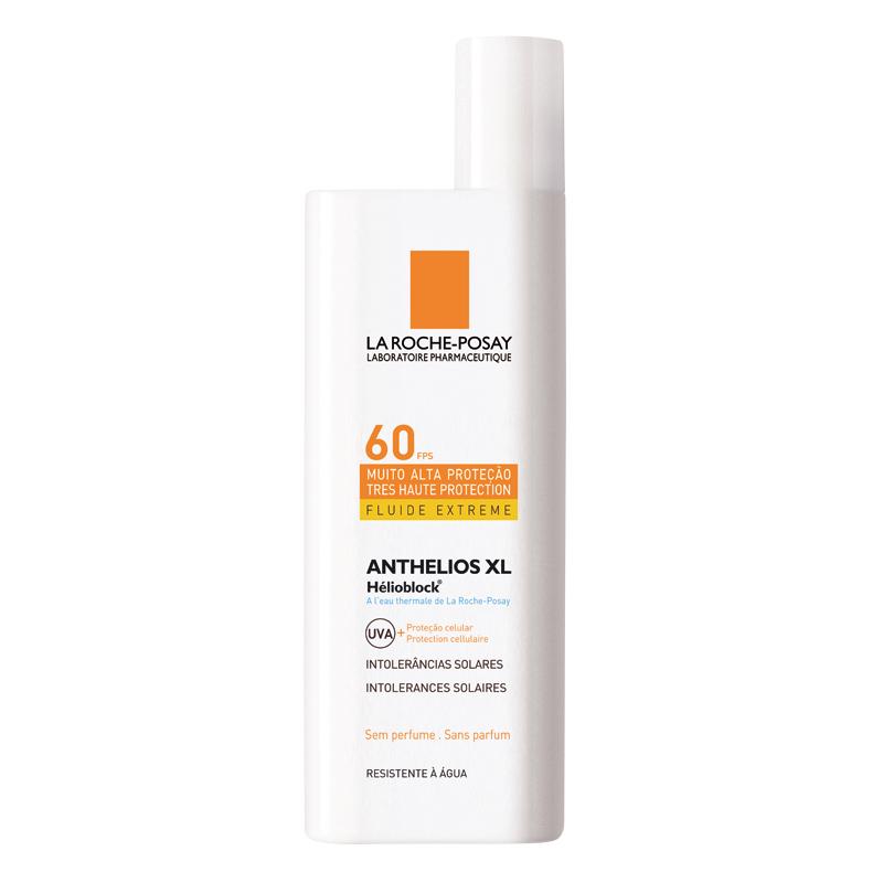 13 • La Roche-Posay Anthelios XL Helioblock FPS 60, R$ 68,90: indicado para peles sensíveis ao sol, peles mistas, oleosas e/ou acneicas, tem absorção imediata. La Roche-Posay 0800-7011552