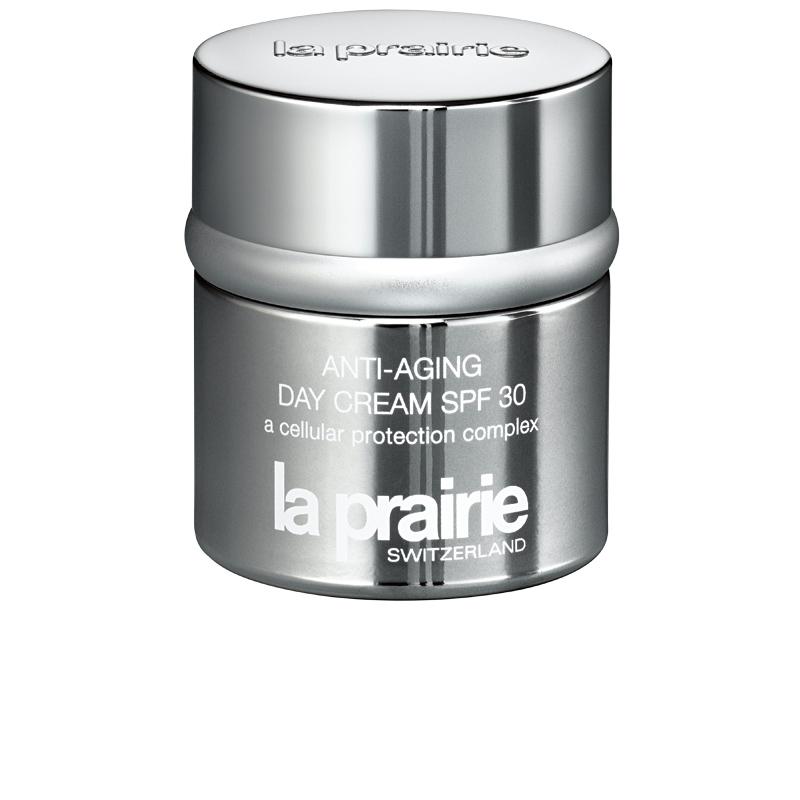 3 • La Prairie Anti-Aging Day Cream SPF 30, R$ 735: fortalece a elasticidade e a firmeza da pele e neutraliza os radicais livres que envelhecem a pele. La Prairie (11) 3082-0820