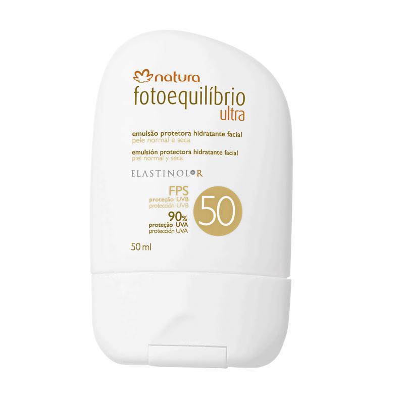 6 • Natura Fotoequilíbrio Emulsão Protetora Hidratante Facial Ultra FPS 50, R$ 32: possui filtros fotoestáveis e componentes que auxiliam no combate aos radicais livres. Natura 0800-115566