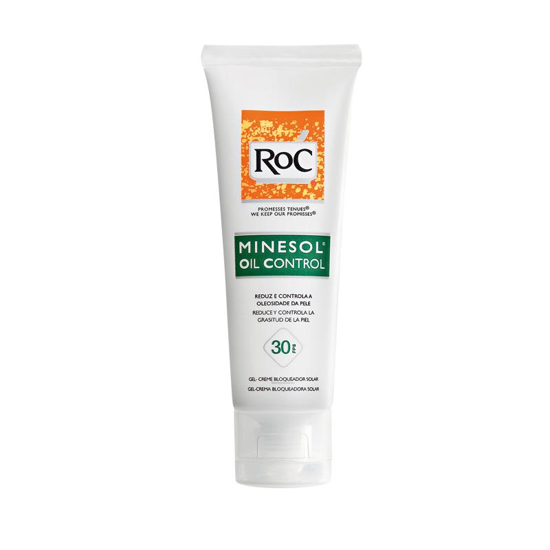 11• Roc Minesol Oil Control FPS 30, R$ 54: específico para pele oleosa, tem toque seco antibrilho e garante reduzir e controlar a oleosidade da pele por até duas horas. Roc 0800-7036363