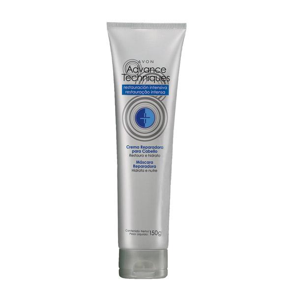 6 • Avon Advance Techniques Restauração Intensa Máscara Reparadora, R$ 14: ajuda a restaurar cabelos extremamente secos e os protege dos danos provocados pelo calor do secador e da chapinha. Avon 0800-7082866