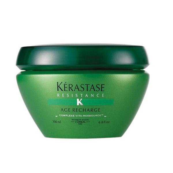 13 • Kérastase Masque Age Recharge Linha Résistance, R$ 110: promete reparar as agressões causadas pelo efeito do tempo. Kérastase 0800-7017237