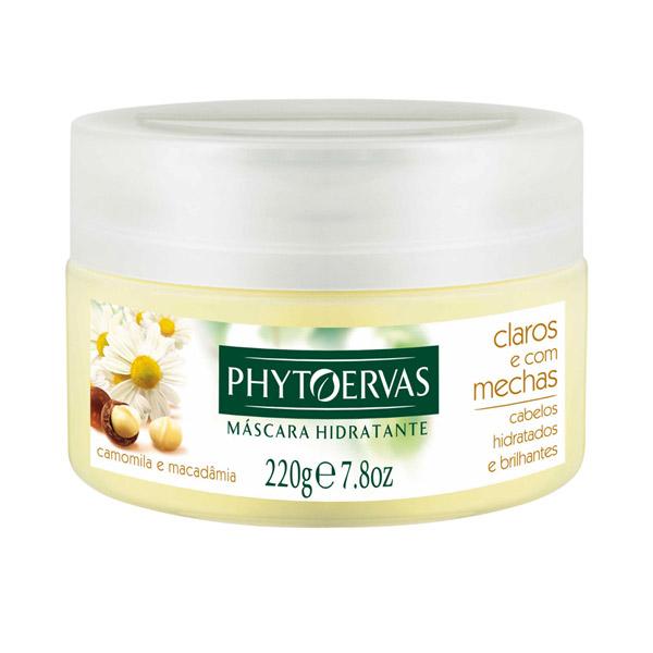 17• Phytoervas Máscara Hidratante Camomila e Macadâmia, R$ 16: proporciona hidratação profunda aos fios, realçando o brilho dos cabelos claros e com mechas. Phytoervas 0800-117707