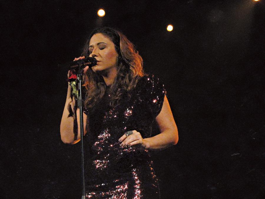 Maria Rita  em Madri,  em maio deste ano