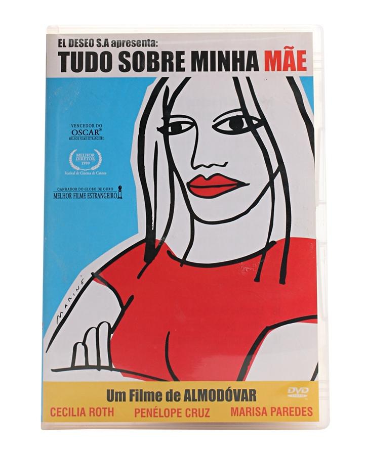 """DVD Tudo sobre Minha Mãe """"Admiro muito Almodóvar."""""""