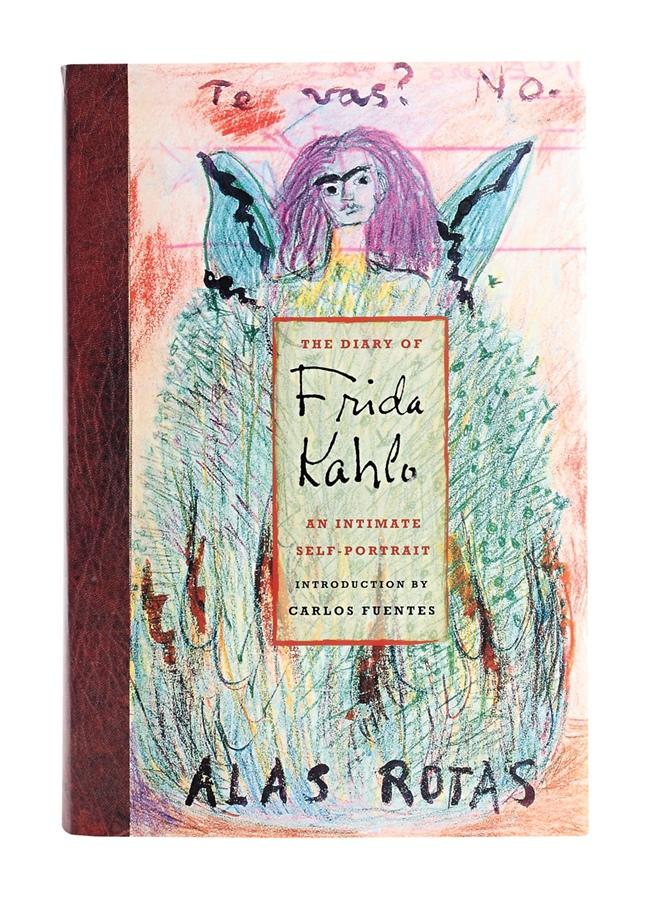"""Livro The Diary of Frida Kahlo """"A Frida é um espelho pra arte que eu acredito."""""""