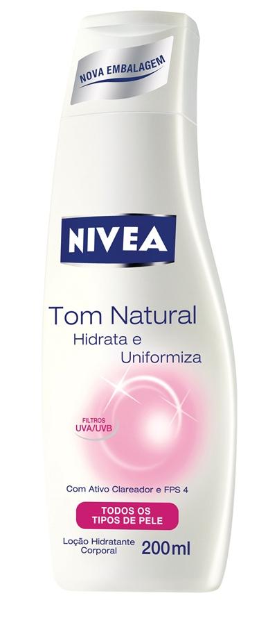 """Diário: """"Passo todos os dias este hidratante da Nivea. Gosto do cheirinho e ainda tem filtro solar e um ativo que promete uniformizar o tom da pele"""""""